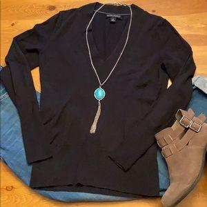 S BANANA REPUBLIC Silk Cotton Cashmere Sweater